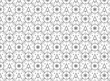 Winter chrismas seamless background Stock Photo - 8432999