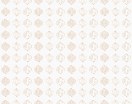 Brown damask seamless wallpaper pattern with paisley Stock Photo