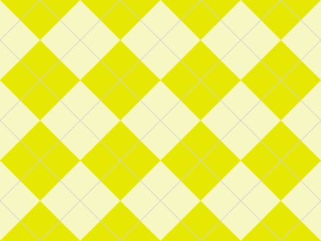 Seamless argyle pattern with yellow rhombuses photo
