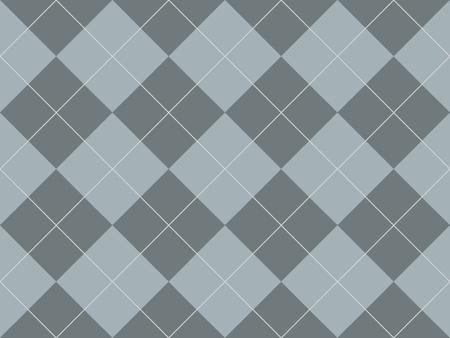 Seamless argyle pattern with grey rhombuses Stock Photo