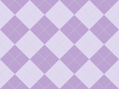 Seamless argyle pattern with purple rhombuses photo