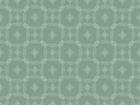 Grey damask seamless wallpaper pattern Stock Photo - 8797815