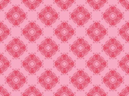 Pink damask seamless wallpaper pattern Stock Photo - 8802094