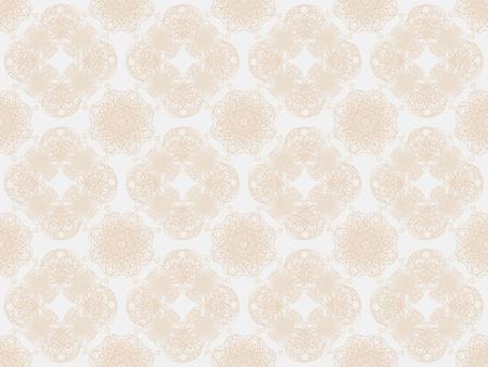 Beige damask seamless wallpaper pattern Stock Photo - 8802103