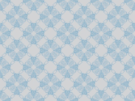 Blue and grey damask seamless wallpaper pattern photo