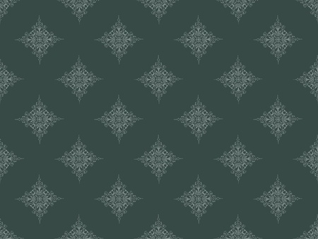 Grey damask seamless wallpaper pattern Stock Photo - 8802106