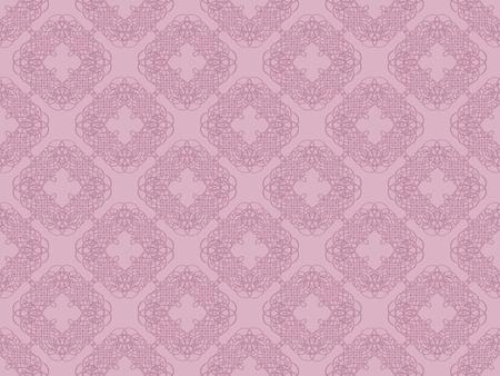 Pink damask seamless wallpaper pattern Stock Photo - 8802111