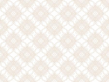 Beige damask seamless wallpaper pattern Stock Photo - 8828958