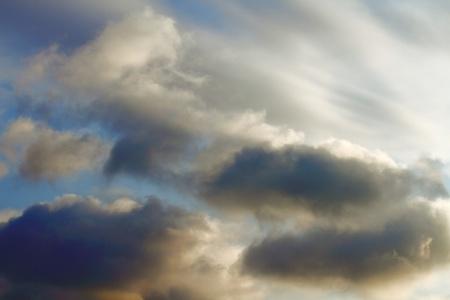 clouds on a beautiful sky, summer sky landscape, nature Stock Photo - 12944662