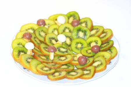Kiwi fruit, healthy, tasty vegetable foods, vitamins Stock Photo - 13294777