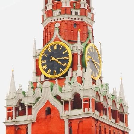 red square moscow: Torre Spasskaya, el Kremlin, la Plaza Roja, Mosc�