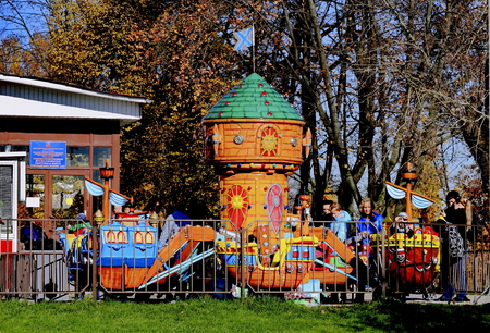 children s Playground, amusement rides