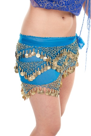 bellydancing: Arabic dance performed by a beautiful blonde