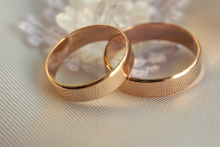 Two wedding rings photo