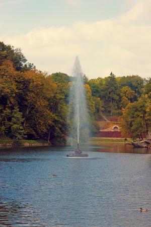 The Snake fountain. Sofiyivsky Park photo