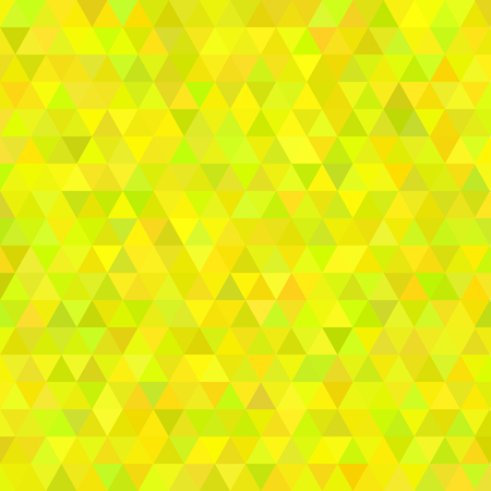 cubic: Abstract mosaic background. Hot yellow cubic geometric background. Design elements Illustration