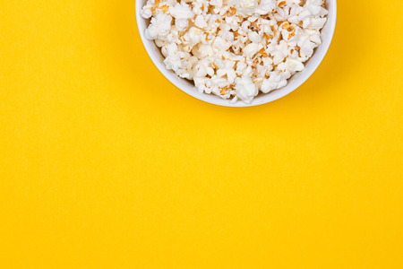 Bowl of Delicious Popcorn Stock fotó