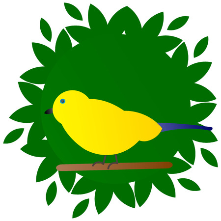 Vector illustration of of sparrows