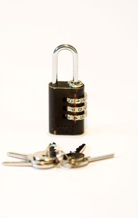 cypher: cypher padlocks and key close up