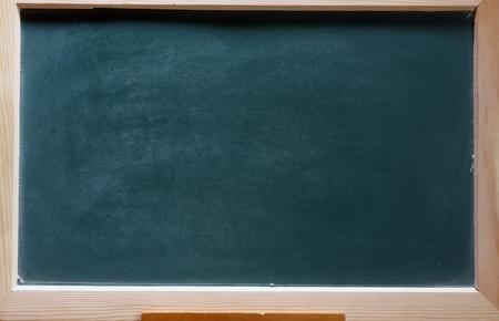 isolated green blackboard close up photo