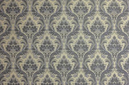 Luxe vintage royal bloemenbehang