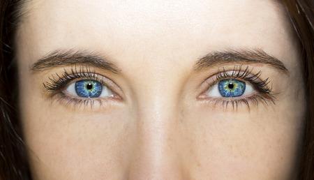 insightful look blue eyes