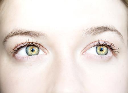 insightful: Beautiful insightful look eyes