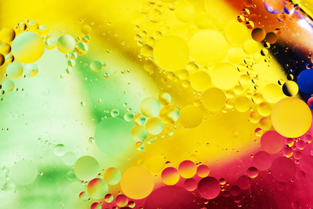 An artful colorful background with bubbles. Abstract background