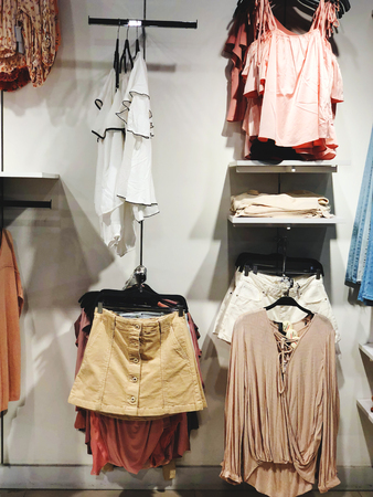 Inside the clothing store at Department Store in Rishon Le Zion, Israel