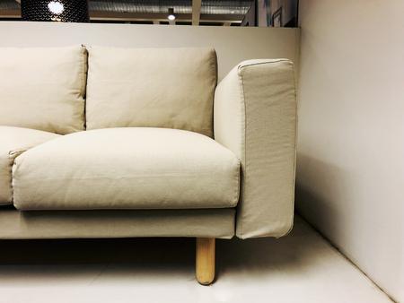 Sofa. Soft velvet fabric. Classic modern sofa sold