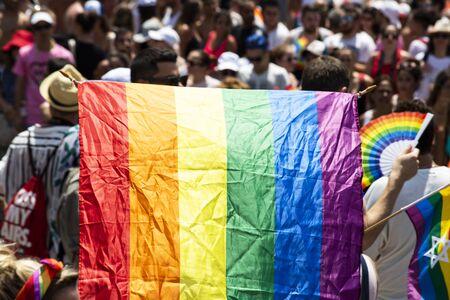Gay Pride Parade in Tel Aviv, Israel
