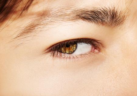 A beautiful insightful look man's eye. Close up shot Stockfoto