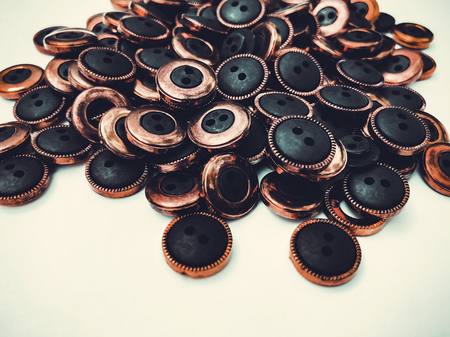 Buttons, lots of buttons. Buttons for sewing and craft