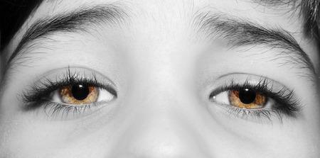 A beautiful insightful look boys eye. Close up shot Stok Fotoğraf