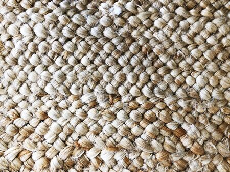 Brown carpet pattern textures. Natural material weave of background textile