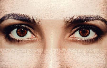 A beautiful insightful look eye.