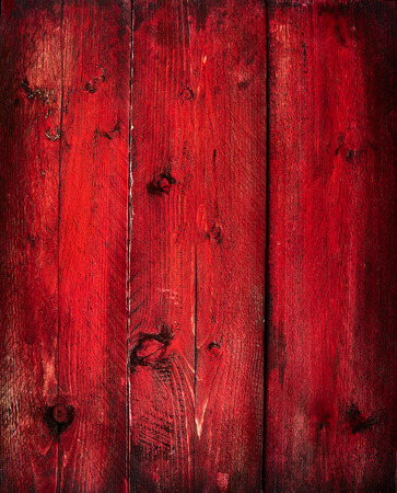 Old Red wooden timber background, texture photo
