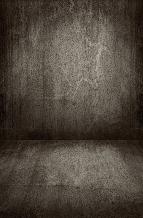 wall floor: Dark grey wooden , wall and floor