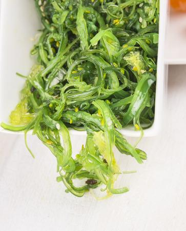 algae: Green algae salad