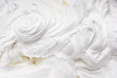 whipped cream background Archivio Fotografico
