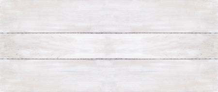 Sfondo di tre tavole in legno bianco