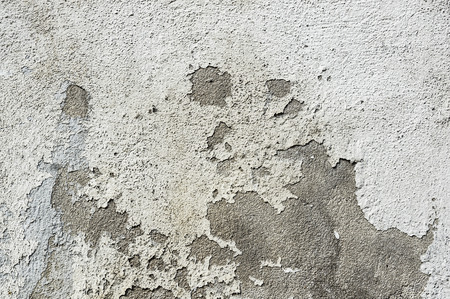 putty: Light concrete wall with old putty crack grunge texture background
