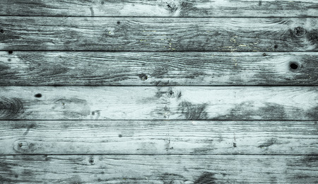 Vintage background of pale blue  timber boards, wooden background Stock Photo