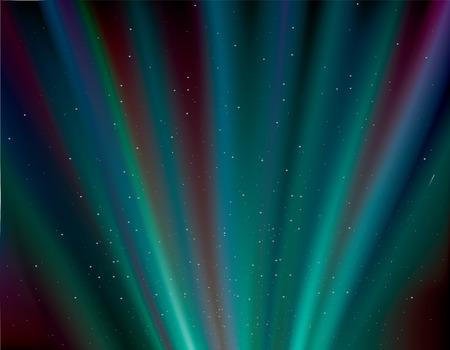 aurora: aurora rays background . dark blue northern lights .