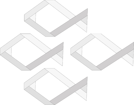 logo poisson: Four fish logo