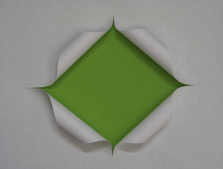 paper frame - cut hole and background