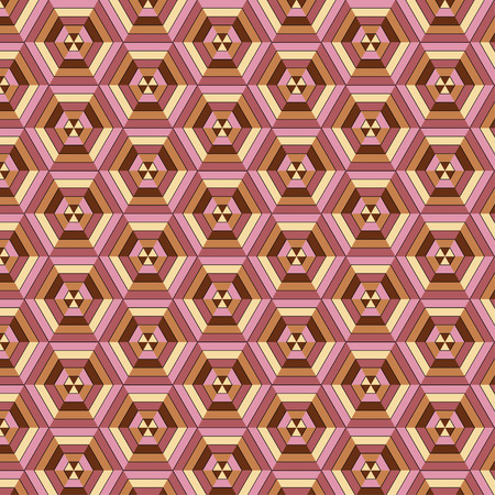 hexahedron: Hexahedron seanless pattern