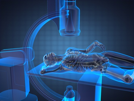 roentgen: x-ray examination made in 3D graphics
