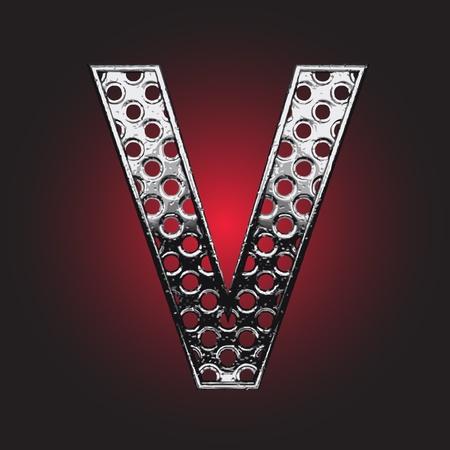 Metal figure made in vector Stock Vector - 13526742