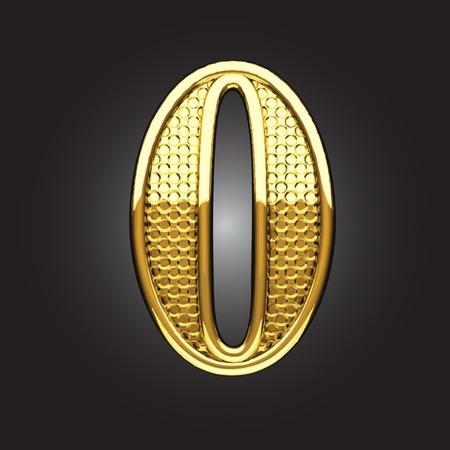 figura dorata fatta in vettoriale Vettoriali